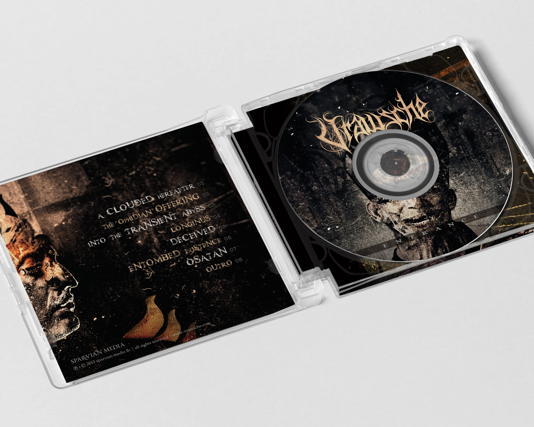 Vrawsche Entrance CD Design